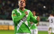 Video: 'Lord Bendtner' ghi bàn, Wolfsburg thắng nhẹ Leverkusen