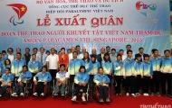 Thể thao người khuyết tật Việt Nam xuất quân dự ASEAN Para Games 2015