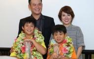 Nhà vô địch Đặng Quang Anh nhận bằng khen của Hiệp Hội Golf Việt Nam