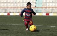Chùm ảnh: 'Messi túi nilon' khoác áo Barcelona