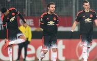 Man United thua sốc đội bóng 'vô danh'