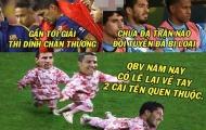 Ảnh chế: Suarez 'gãy' trước cửa thiên đường; Nền bóng đá Việt Nam tuyệt vời đến 'đẳng cấp'