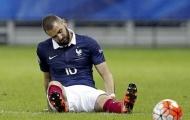 Benzema bị lôi vào thất bại của người Pháp trước BĐN