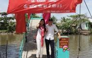 Hoa hậu Thu Thảo bênh vực vợ chồng Công Vinh – Thủy Tiên khi làm từ thiện
