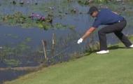 Tay golf nam gây sốc khi 'đùa với tử thần' ở Olympic