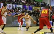 Danang Dragons mất lợi thế vòng play-off vì thua Saigon Heat