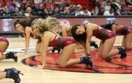 Cheerdance Miami Heat làm nóng nhà thi đấu American Airlines Arena