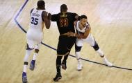 King LeBron bất lực, Durant và Curry tiếp tục 'bón hành' cho nhà ĐKVĐ