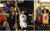 Neymar, Hamilton dự khán, Curry khiến cả LeBron James và Kevin Love tẽn tò