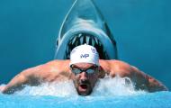 SỐC: Kình ngư Michael Phelps bơi đua với... cá mập trắng
