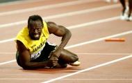 Usain Bolt thừa nhận xém 'mít ướt' trong ngày giã từ sự nghiệp