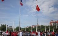Hình ảnh xúc động tại Lễ thượng cờ Việt Nam tại SEA Games 29