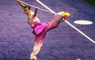 Thuý Vi mở hàng ngày mới với tấm huy chương vàng cho wushu