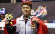 Văn Vinh giành HCV cử tạ, phá kỷ lục SEA Games