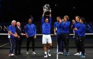 """Khuất phục """"trai hư"""", Federer giúp tuyển châu Âu vô địch Laver Cup"""