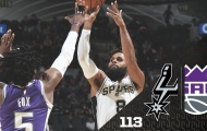 Highlights NBA Preseason: San Antonio Spurs 113-93 Sacramento Kings