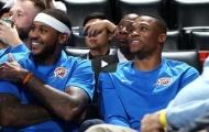Màn ra mắt của bộ ba Westbrook-Carmelo-George