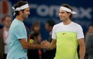 Điểm tin thể thao 11/10: Federer ngả mũ trước Nadal; Australian Open vô đối tiền thưởng
