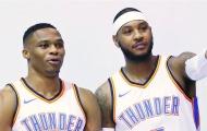 Carmelo Anthony: Westbrook hãy làm những gì mình thích