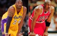 Kobe Bryant muốn được Michael Jordan giới thiệu ở sảnh Danh vọng