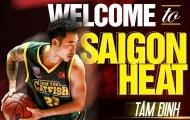 CHÍNH THỨC: Tam Dinh đầu quân cho Saigon Heat ở ABL 2017/18