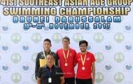 Kim Sơn giành 4 HCV tại Giải các nhóm tuổi Đông Nam Á