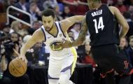 """""""Song tấu"""" Curry, Thompson bùng nổ, Warriors trả nợ thành công trên sân Rockets"""