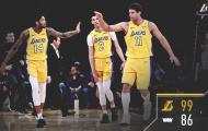 Lonzo Ball lập double double, Lakers hạ đẹp Kings trên sân nhà