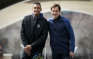 Federer vui vẻ ra mắt Laver Cup sau thất bại trước Del Potro