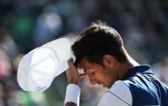 Djokovic nhận thất bại kép ở trận ra quân Miami Open