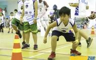 Hình ảnh cực đáng yêu của các Jr.NBA Allstar tương lai tại Hà Nội