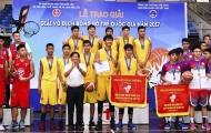Giải bóng rổ Vô địch Quốc Gia 2018 bắt đầu khởi tranh