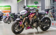 Chạm mặt 'Gã hề' Kawasaki Z1000 Joker của biker Việt