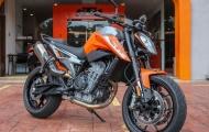 Cận cảnh 'dao mổ' KTM 790 Duke 2018 sắp về Việt Nam
