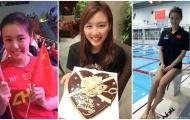 Nữ kình ngư xinh đẹp Trung Quốc phá kỷ lục thế giới 50 m bơi ngửa