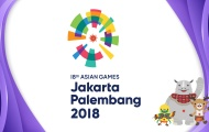 Tổng kết huy chương ASIAN Games 2018