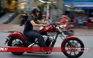 Chiêm ngưỡng 'xế nổ' cổ điển Honda Fury 2018 đầu tiên về Việt Nam