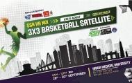 Giải đấu bóng rổ 3x3 chuyên nghiệp đầu tiên tại Hà Nội