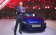 'Soái ca' Justin Young xuất hiện đầy bất ngờ tại sự kiện Audi trên đất Singapore