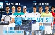 Chia bảng ATP Finals: Djokovic hướng tới san bằng kỷ lục của Federer