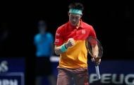 Federer thua trắng Nishikori trong trận ra quân tại ATP Finals