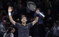 Thắng dễ Anderson, Djokovic thẳng tiến chung kết ATP Finals