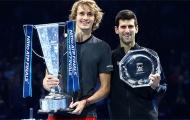 Djokovic: 'Zverev có thể vượt mặt tôi'