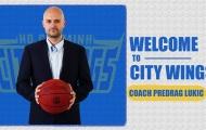 Chính thức: HLV Predrag Lukic nam tiến, làm huấn luyện viên cho đội bóng Hochiminh City Wings