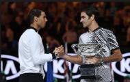 Nadal thừa nhận Federer là GOAT của quần vợt