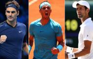 'Quần vợt sẽ lao đao ở những năm đầu Big 3 giải nghệ'