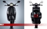 Piaggio ra mắt bộ đôi phiên bản đặc biệt Vespa Sprint Notte và GTS Notte