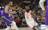 Vô hiệu hóa Harden và Chirs Paul, Jazz khiến Rockets thảm bại trên đất khách