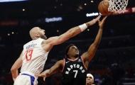 Kyle Lowry lấy lại phong độ, Raptors thắng cách biệt Clippers 24 điểm