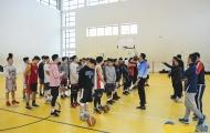 Bất chấp lạnh giá, hơn 50 ứng viên có mặt tại buổi try-out của Tuyển bóng rổ Hà Nội